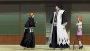 Kenpachi Tells Ichigo To Stay