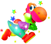 Rainbow Yoshi