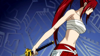 Erza clothes to defeat Ikaruga