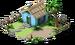 Hut.png pequeña Blue Island