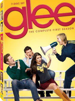 Glee DVD first season
