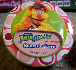 Muppet mints fozzie