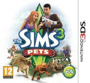 Sims 3 Pets Box Art 3DS