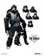 The Shield Concept Art