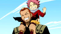 Natsu and Gildarts