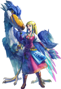 Princess Zelda Artwork (Skyward Sword)