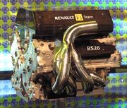 Renault RS26 engine 2006