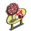 Red Gem Tree Mastery Sign-icon