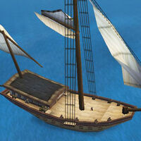 War Sloop deck