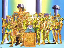 Saint seiya gold saints
