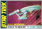 AMT Model kit AMT695 USS Enterprise 2011
