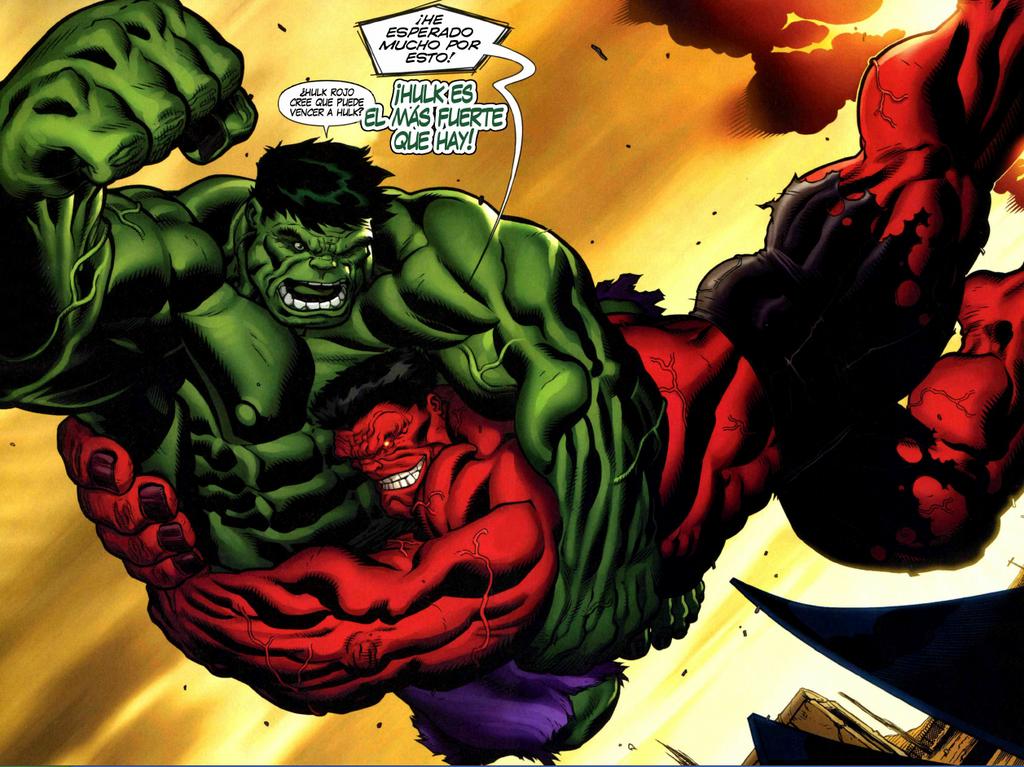 Red Hulk Green Hulk Grey Hulk Red Hulk vs Green Hulk.png