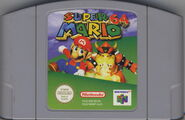 Cartridge for Super Mario 64