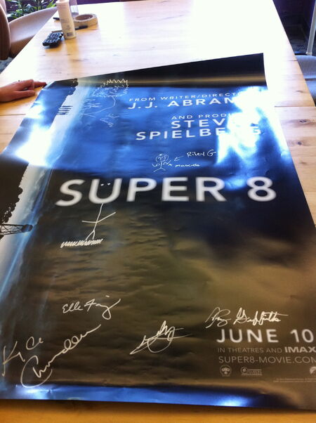 Super8SignedPoster