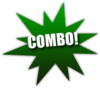 Combo-star-lg-green