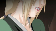 Tsunade crying