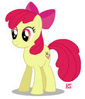 Apple Bloom's Appleheart by GlamourKat