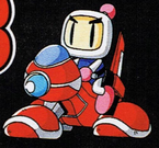 Bomberman on a Moto