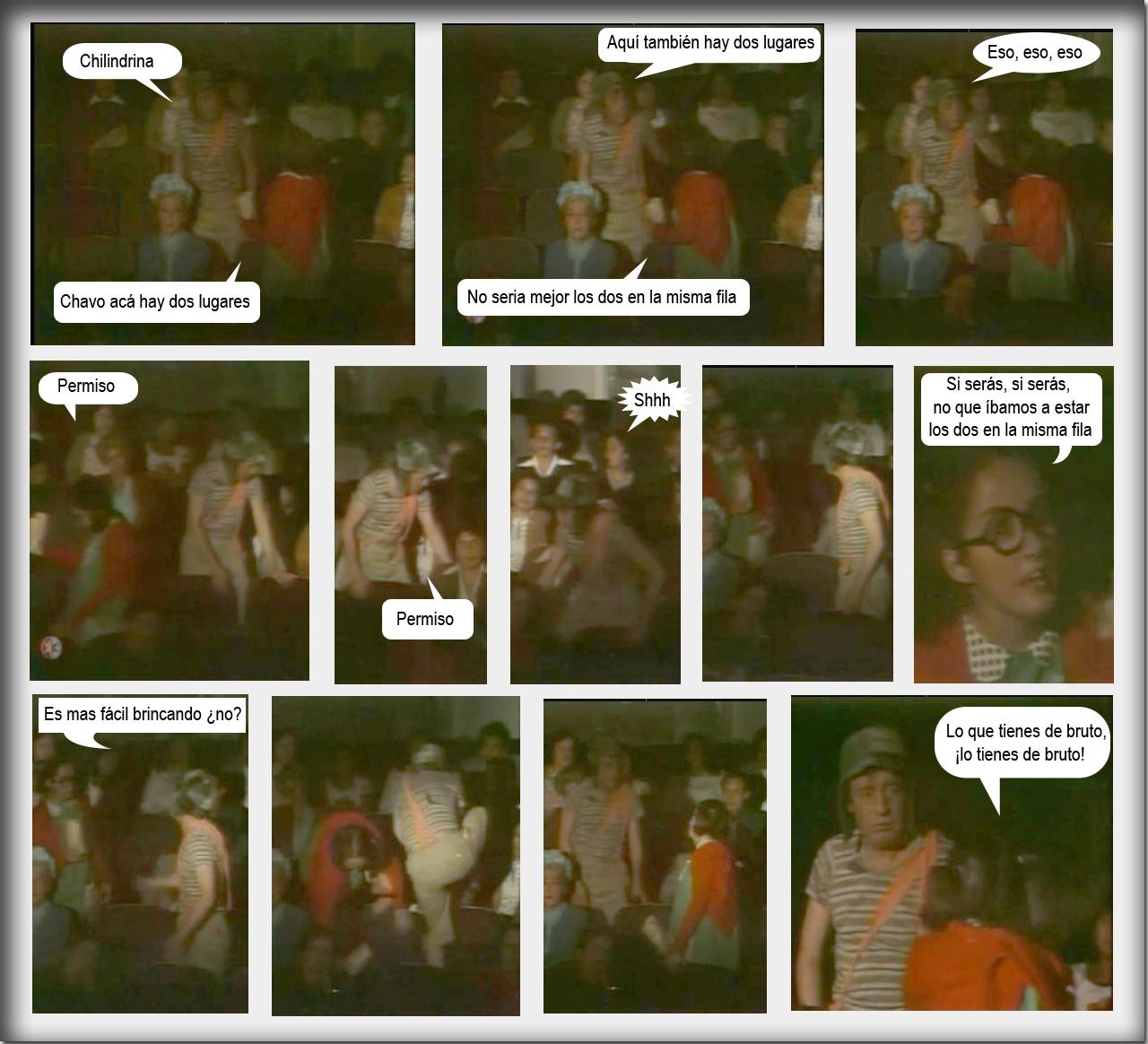 Comics del Chavo del 8 hechos por MI