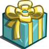 Light Blue Birthday Gift-icon