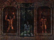 Chamber of Fate Fresco - Prison