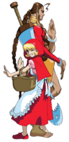 Darkstalkers 3 Donovan and Baby Bonnie Hood