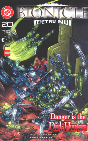 Cover for Bionicle #20