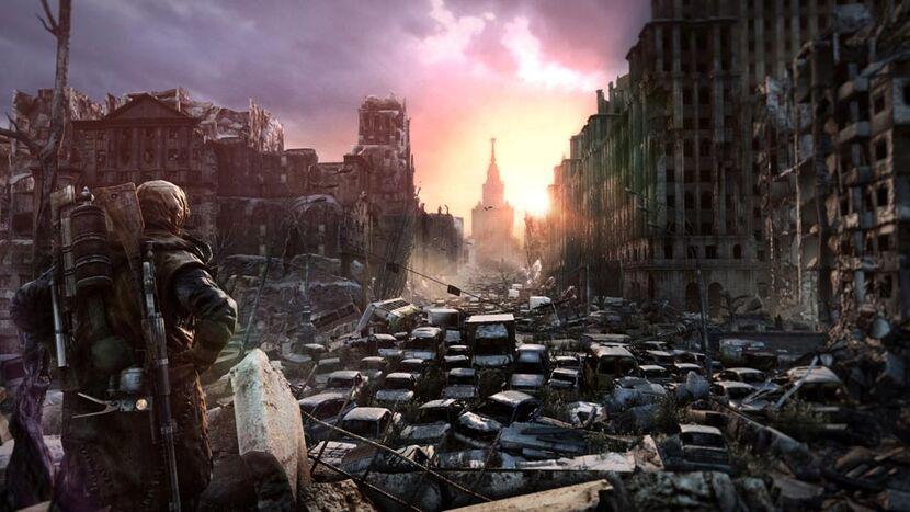 Det er slik overflaten ser ut i Metro 2033
