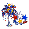 July Confetti Tree-icon