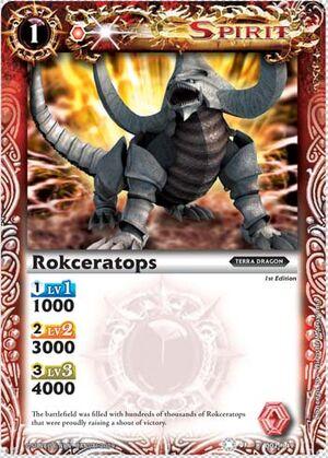BS01 -battle spirits set 1 -spirits. 300px-Rokceratops2
