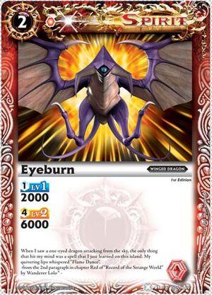 BS01 -battle spirits set 1 -spirits. 300px-Eyeburn2