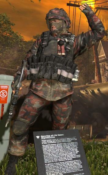 COD MW2 Spetsnaz soldier 2 Minecraft Skin
