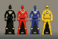 Abaranger Ranger Keys