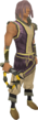 Abyssal whip (yellow) equipped