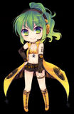 Illu ecapsule Vocaloid Sonika-chibi