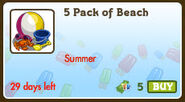 5 Pack of Beach-icon