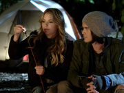 Hanna and caleb camping