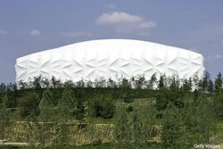 Photos londons unusual basketball arena ready for olympics