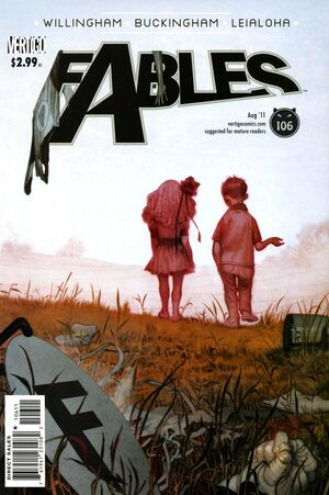Cover for Fables #106