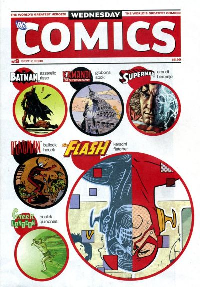 Cover for Wednesday Comics #9