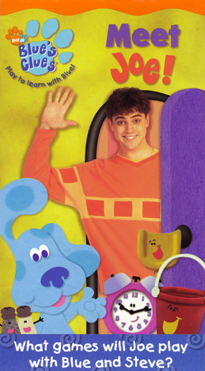 blues clues meet joe vhs