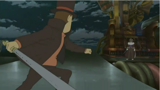 Oh The Humanity Professor Layton And The Eternal Diva Gamecola