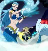 Lucy summons aquarius