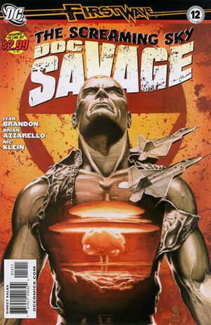 Cover for Doc Savage #12