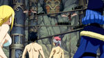 Team Natsu &amp; Juvia vs. Tower of Heaven Guards