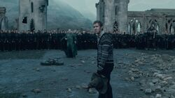 Neville confronts Voldemort