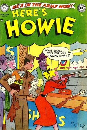 Cover for Here's Howie #7