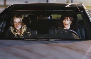 Hanna and Ashley in Car