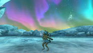 Aurora Borealis at Arctic Battlefield