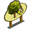 Cork Oak Tree Mastery Sign-icon
